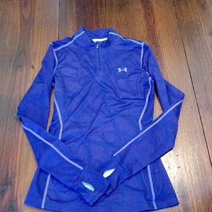 Under Armour Cold Gear Fitted Pullover Sz S